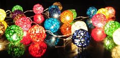 rattan fairy lights - Google Search