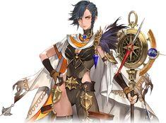 Clemis7 grande 7 Knight, Seven Knight, Dark Knight, Anime Fantasy, Fantasy Girl, Fantasy Character Design, Character Illustration, Game Character, Fantasy Characters