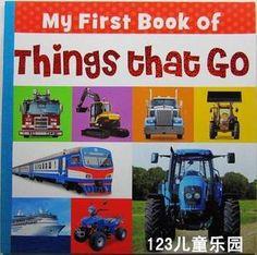 RMB 18 大开本地板书!男宝宝最爱 My First book of things that go-淘宝网