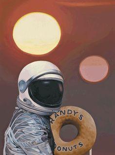 """""""Twin Suns and Donuts"""" Scott Listfield"""