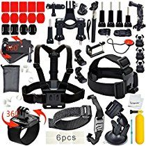 Cheap Erligpowht Basic Common Outdoor Sports Kit Ultimate Combo Kit 40 accessories for GoPro HERO sale Instax Mini Camera, Fuji Instax Mini, Gopro Camera, Gopro 6, Buy Gopro, Gopro Shop, Gopro Action, Gopro Accessories, Best Amazon Products
