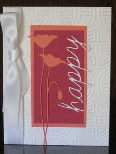 CC424 Happy Poppies by jdmommy - Cards and Paper Crafts at Splitcoaststampers