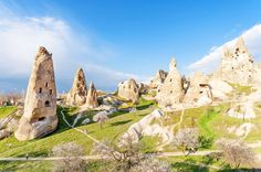 When life gives you fairy chimneys, make homes out of them! That's what the ancient people of Cappadocia concluded when they happened upon the region's craggy, hoodoo-filled landscape.