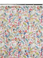 Parrot Fabric Shower Curtain Shower Curtain Fabric Shower