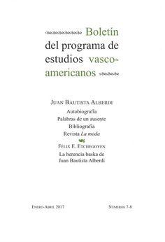 BOLETÍN DEL PROGRAMA DE ESTUDIOS VASCO-AMERICANOS