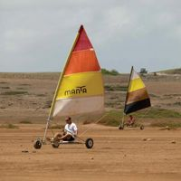 Land Sailing! Didn't even know there was a thing, but I am willing to try it in Aruba! #aioutlet take us to #Aruba