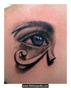 Spoke to a tattoo artist about getting the eye of Horus, she wanted to do something like this, I wanted to run out of the shop.. just no.