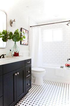 High Quality 95 Luxury Black And White Bathroom Ideas
