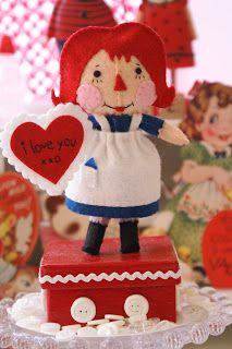 cotton pickin' fun!: Raggedy Ann, I Love You!