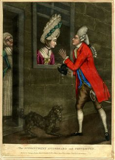 The Appointment overheard and prevented  Published by Carington Bowles  1768-1775