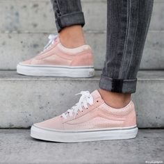 Bans Old Skool in pastel rose, on the wishlist for this spring