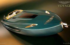 Aston Martin Voyage 55 Boat