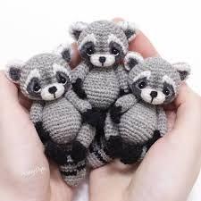 """Résultat de recherche d'images pour """"crochet raccoon"""""""