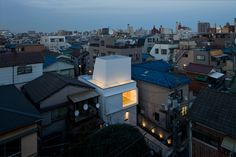 Outdoors/Indoors, a project for a small house in the Shinagawa, Tokyo  area by Be-Fun Design,Tsuyoshi Shindo