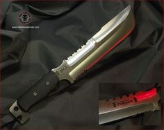 Relentless Knives M4X Punisher Special Edition 3V steel Zone Tempered Industrial Strength Military Survival knife.