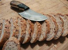 Bezlepkové tmavé kváskové bagetky od Markéty Kitchen Knives, Low Carb, Gluten Free, Botany, Foods, Diet, Glutenfree, Food Food, Food Items