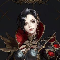 [CHESS -Black Queen], Monable . on ArtStation at https://www.artstation.com/artwork/n18a6