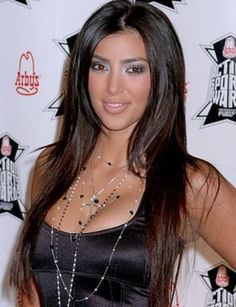 Kim Kardashian Baby and Teenager Photos and Hair Styles Through The Years