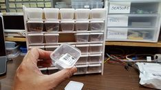 $4 DIY Electronic Parts Storage by HariFun
