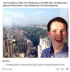 Lol. Give this man an award