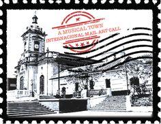Un pueblo musical (A musical town) International Mail Art Call.