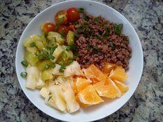 Eu que fiz!: Almoço e sobremesa: tudo junto! - #paleo  #lowcarb  #comidasaudavel  #lchf  #euquefiz