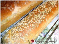 Εξαιρετική συνταγή για Το τέλειο ψωμί της πεθεράς μου. Λίγα μυστικά ακόμα Για να καταλάβουμε ότι τα ψωμάκια μας είναι έτοιμα βυθίζουμε ένα μαχαίρι στο ψωμί μας και θα πρέπει να βγει στεγνό. Ευχαριστούμε την pinalaki για τις φωτογραφίες βήμα βήμα. Pretzel Bun, Greek Cooking, Greek Recipes, Hot Dog Buns, Bakery, Food And Drink, Health Fitness, Cooking Recipes, Pie