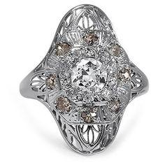 The Stefania Ring #BrilliantEarth #Vintage