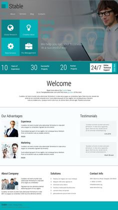 Free website template for marketing agency httpwww looking for responsive or website templates here is collection of best responsive website templates these templates are make your website fully accmission Gallery