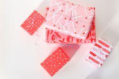 Valentine's Day Printable Gift Wrap