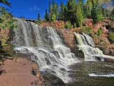 Gooseberry Falls State Park.  along Minnesota's north shore Lake Superior