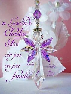 Guardian Angel Car Charm created with Violet Swarovski Crystals. Christmas Card Sayings, Christmas Blessings, Christmas Wishes, Christmas Art, Christmas And New Year, Christmas Stockings, Christmas Bulbs, Christmas Decorations, Christmas Verses