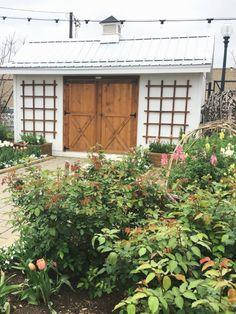 A Weekend in Waco & Magnolia — La Petite Farmhouse Waco Magnolia, Magnolia Market, Magnolia Homes, Garden Tool Shed, Garden Tool Storage, Garden Sheds, 12x8 Shed, Diy Shed, Boho Nursery