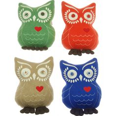 Bock Cph knitted owl mini cushion