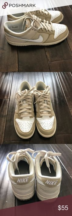 0ef175f5f81f26 Nike Dunk Low CL Birch White Tweed 304714 211 Size 10 (US) Men s Good  preowned condition Includes box Nike Shoes Sneakers