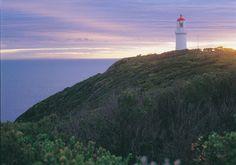 Sunset over Cape Schanck. Mornington Peninsula, Victoria, Australia.