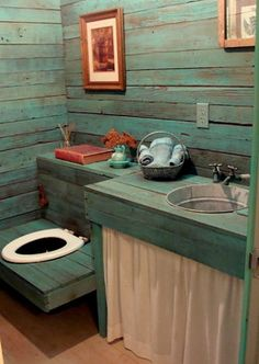 Outhouse Bathroom Design Ideas, Pictures, Remodel and Decor
