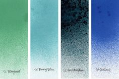 Studio Calico Mist Swatches (Kristina Werner) Makes me want em all.....
