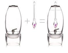 #gemwater #semipreciousstone #pierresemiprecieuse #gem #biocosmetic #savon #soap #huile #oil #wellness #creation-aum.com #LE GRAND DISTRIBUTEUR - 7L par VitaJuwel (seul) :: creation-aum.com