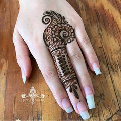 Henna Mehndi Design for beginners Very easy design Easy Mehndi Designs, Henna Hand Designs, Latest Mehndi Designs, Dulhan Mehndi Designs, Mehandi Designs, Bridal Mehndi Designs, Mehndi Designs Finger, Mehndi Designs For Beginners, Mehndi Designs For Fingers