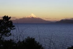 Bed & Breakfast Cabins in Puerto Varas with beach access on Llanquihue Lake, overlooking Volcano Osorno. road to Ensenada Phone: 9 6291 Patagonia, La Cascade, Plan Your Trip, Chile, Tours, Adventure, Landscape, Beach, Places