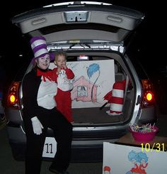 dr seuss 16 ways to decorate your car for trunk or treat tip junkie