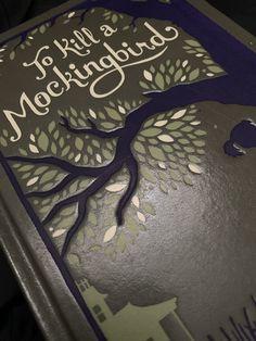 Hollow Book Safe- Leatherbound Book Safe, Harper Lee, To Kill A Mockingbird, Books, Libros, Book, Book Illustrations, Libri