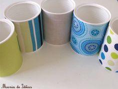 Kit Higiene (Azul e Verde) - Com latas