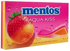 Mentos Aqua Kiss Strawberry & Mandarin http://www.mentos.be/?lang=nl