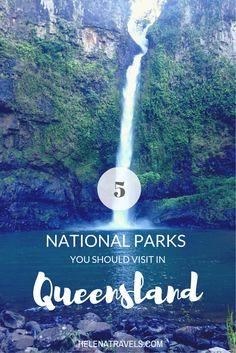 5 National Parks you should visit in Queensland, Australia.