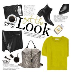 """Get the look"" by punnky ❤ liked on Polyvore featuring MICHAEL Michael Kors, Marc Jacobs, Selima Optique, Chanel and Nila Anthony"