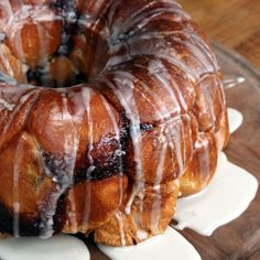 Apple Fritter Stuffed Pull-apart Bread by Tasty