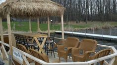 Pontoon Boat Furniture, Party Barge, Outdoor Furniture Sets, Outdoor Decor, Wicker, Yard, Construction, The Originals, Google Search