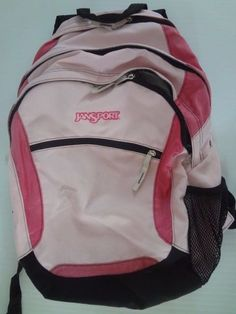 0b435ba87136 JanSport Backpack Pink Black  fashion  clothing  shoes  accessories   unisexclothingshoesaccs  unisexaccessories